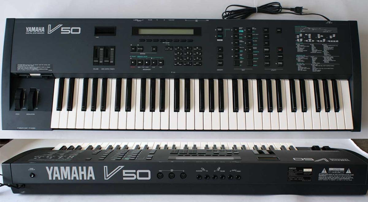 Yamaha v50 sonidos de fabrica roland clavia korg teclados for Korg yamaha roland