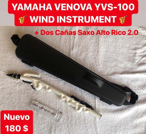 yamaha venova tipo saxofon más cañas rico 2.0 de saxo alto