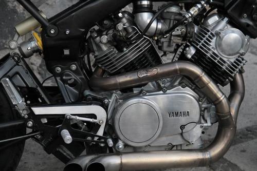 yamaha virago 83 estilo cafe racer