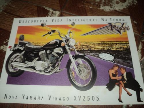yamaha virago xv250s 1996  f.concessionaria