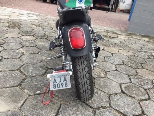 yamaha virago xv535 ano 1999 custom reliquia com acessorios