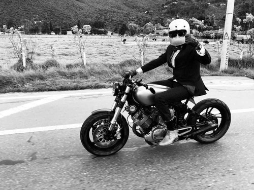 yamaha virago xv750 - cafe racer