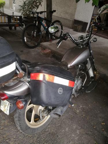 yamaha vision 125cc 2003 tipo chopperremate con todo y cajas
