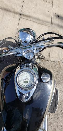 yamaha vstar 1100cc 2005 lista para viajar a donde quieras.