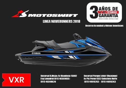yamaha vxr 1800 moto de agua 2018 - reserva tu unidad
