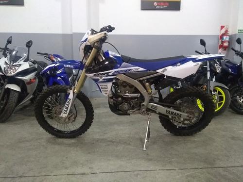yamaha wr 250 f azul 2016 - 5800 km - mg bikes!