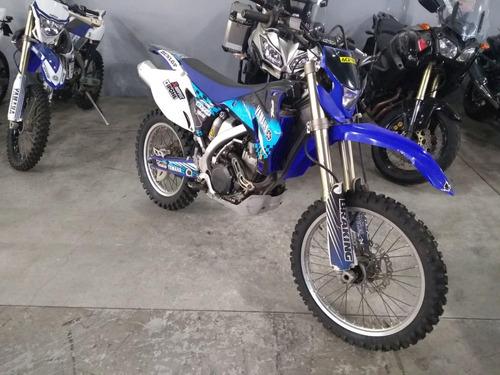yamaha wr 450 f azul 2010 - 9100 km - mg bikes!