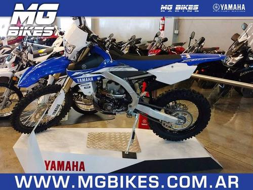 yamaha wr 450 f azul 2017- 0 km - mg bikes!