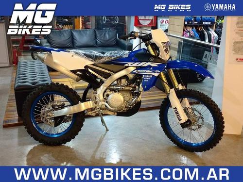 yamaha wr 450 f azul 2018- 0 km - mg bikes!