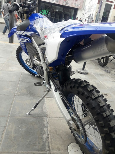 yamaha wr 450f azul
