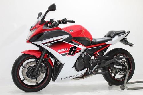 yamaha xj6 f 2015 vermelha