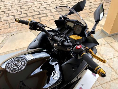 yamaha xj6 f 600 2012 - vários acessórios novos