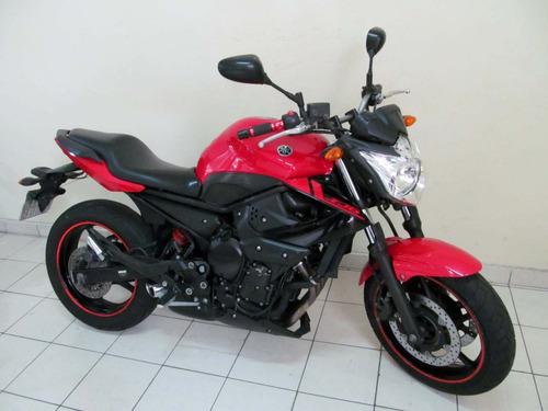 yamaha xj6 n 2012 vermelha