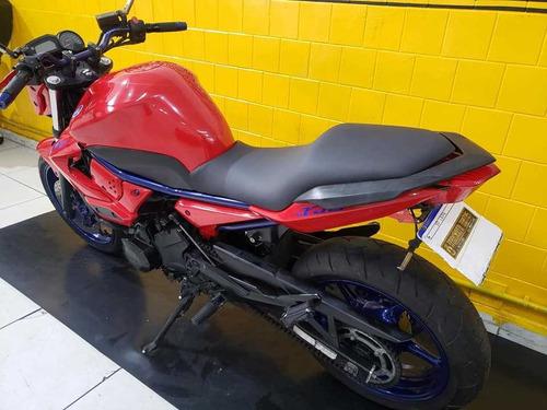 yamaha xj6 n vermelha - 2012 - km 23. 000 -