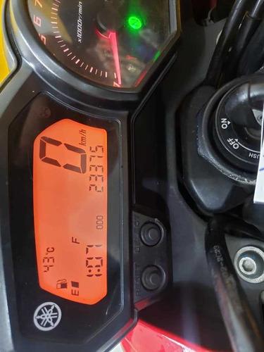 yamaha xj6 n vermelha - 2012 - km 23. 000  11 947234344 gil
