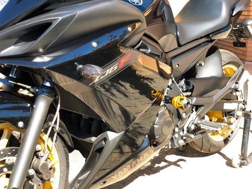 yamaha xj6f std 2012 - vários acessórios novos