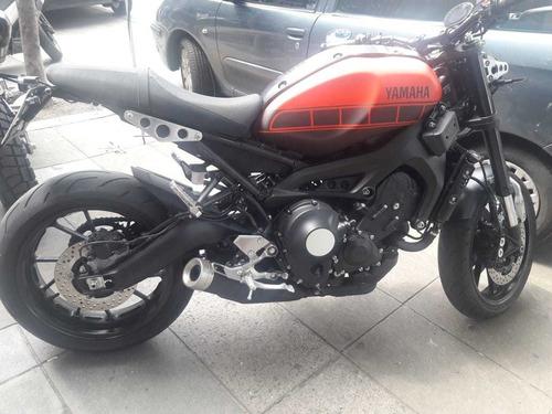 yamaha xsr 900 usada pocos km - palermo bikes