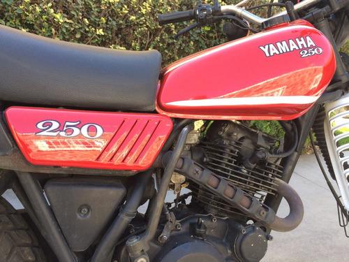 yamaha xt 250 1980 clasica 1980