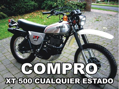 yamaha xt 500 1976 - 1981 (no honda xr, suzuki dr, kawa klr)