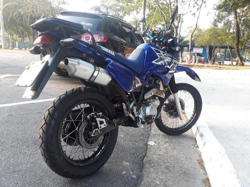 yamaha xt 600 azul