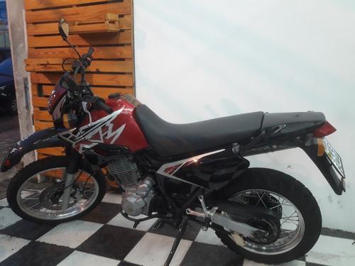 yamaha xt 600e 1999 vermelha tebi motos