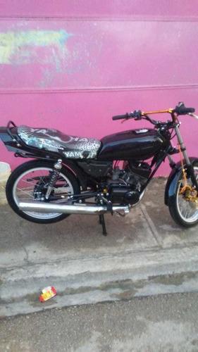 yamaha xt115 negro