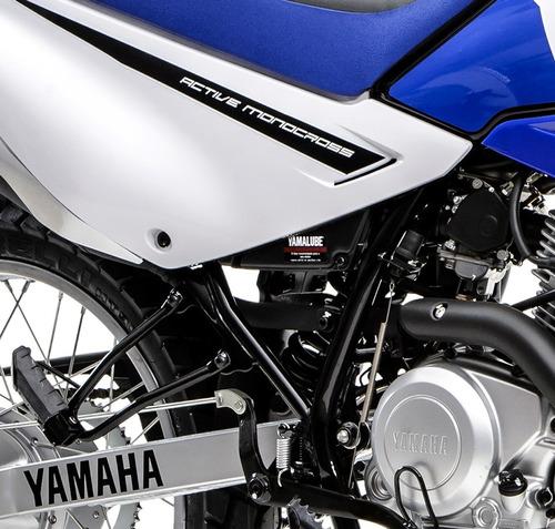 yamaha xtz 125 - 0 km - blanco - expomoto
