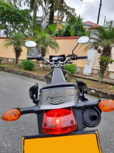 yamaha xtz 125 150cc repotenciada 2015 negra/gris
