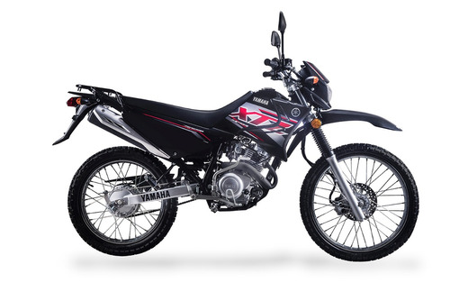 yamaha xtz 125 modelo 2019 blanco azul negro  palermo bikes
