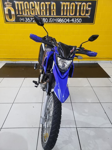 yamaha xtz 150 crosser z - 2018 - azul - km 7.000