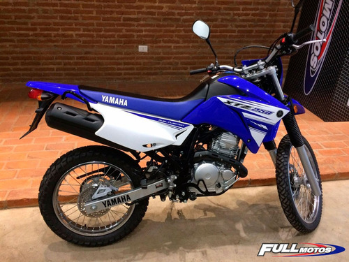 yamaha xtz 250 0km azul