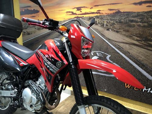 yamaha xtz 250 lander 2014 vermelha impecável