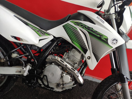 yamaha xtz 250 lander 250 2009 branca branco