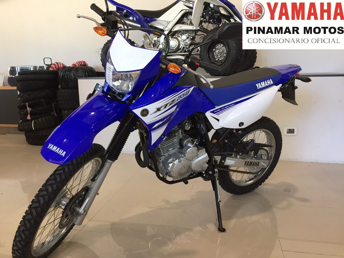 Yamaha xtz 250 nueva 2017 azul 0km entrega inmediata for 2017 yamaha 250