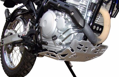 yamaha xtz-tenere 250 cubre carter aluminio motoperimetro ®