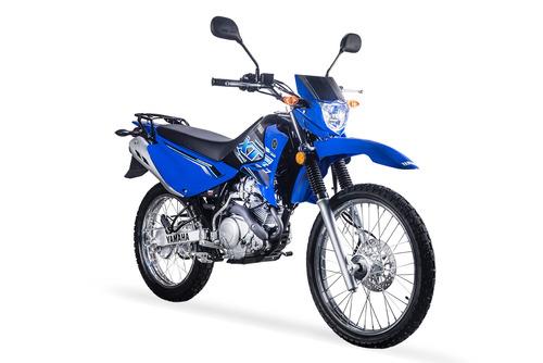 yamaha xtz125 2019 azul nueva