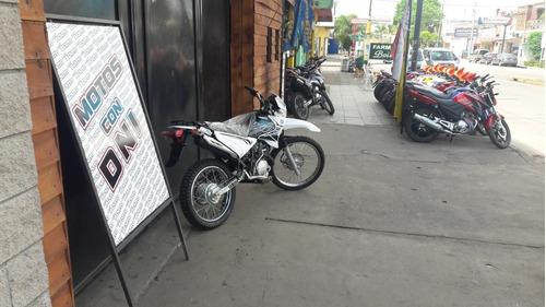 yamaha xtz125 okm blanca linea nueva  motos benito