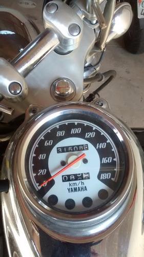 yamaha xvs 650 drag star 2004 preta