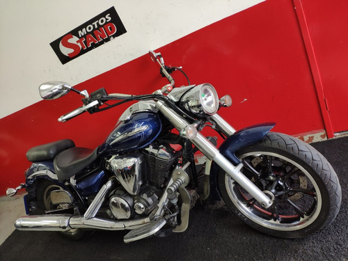 yamaha xvs 950 midnight star 950 2011 azul