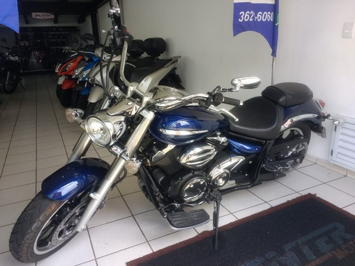 yamaha xvs 950a midnight star azul 2012