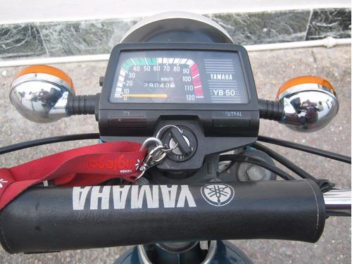yamaha yb 50 - 1998 - empadronada en 2005 - 29000 kms.