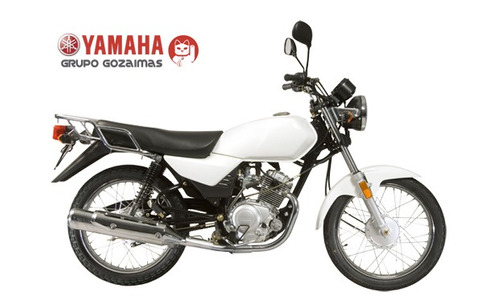 yamaha yb125 blanca
