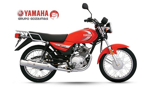 yamaha yb125 roja