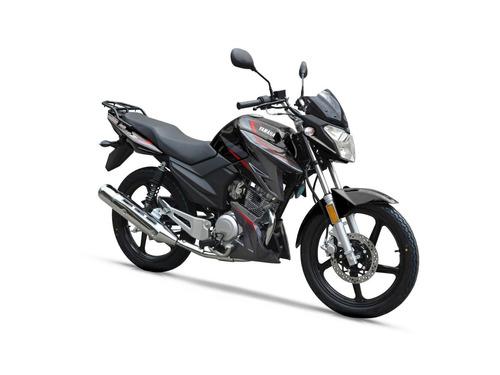 yamaha ybr 125 z 0km negra - mg bikes