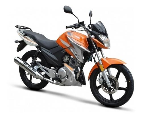 yamaha ybr 125 z 2020 financia en 60 cuotas  delcar motos