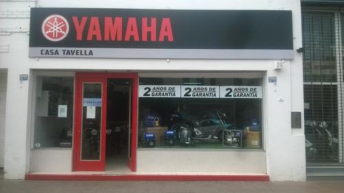 yamaha ybr 125ed -todos los colores - casa tavella laboulaye