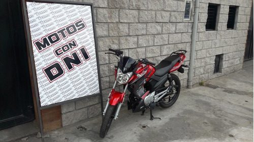 yamaha ybr 125z  okm   bordo  linea nueva   motos benito