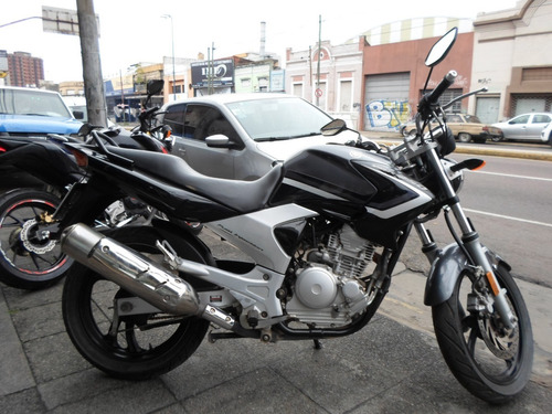 yamaha ybr 250 motos march