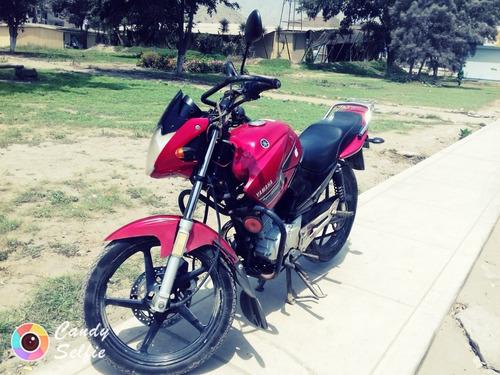 yamaha ybr125 rojo