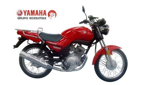 yamaha ybr125c express roja